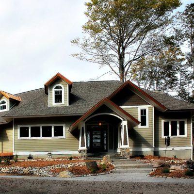 Lake Michigan Mission Style House