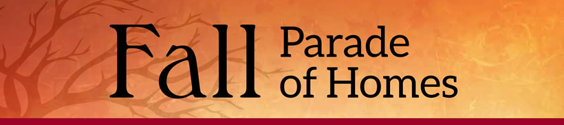 Fall Parade of Homes banner