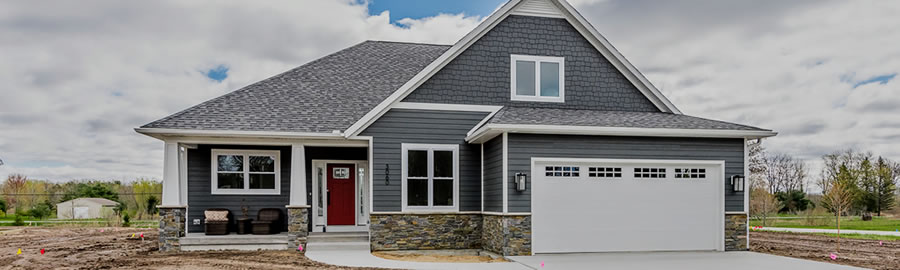 Midland Parade of Homes Mod Exterior